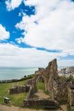 海斯廷斯城堡 库存照片