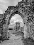 海斯廷斯城堡 免版税库存照片