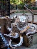 海斯廷斯,东部SUSSEX/UK - 11月06日:Leigh染工的章鱼在 库存照片