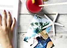 海星旅行假期海岸假日夏天概念 免版税库存照片