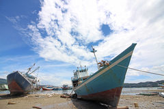 海景在印度尼西亚 免版税图库摄影