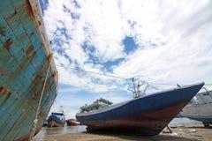 海景在印度尼西亚 库存图片