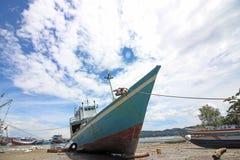 海景在印度尼西亚 免版税库存图片