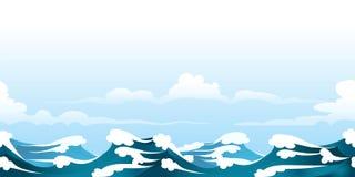 海景样式 库存图片