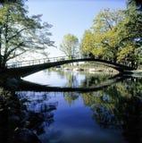 海景瑞士河Venoge莱芒湖 库存照片