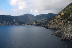 海景 Monterosso Al母马 库存照片