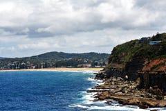 海景@ Terrigal,澳大利亚 免版税库存图片