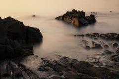 海景Si张海岛 库存照片