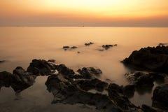 海景Si张海岛 免版税库存照片