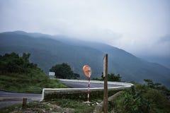 海氏范Pass Mountain沿海路在越南 免版税库存图片