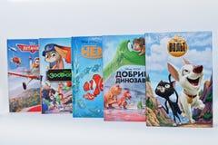 海氏,乌克兰- 2017年2月28日:生气蓬勃的迪斯尼电影动画片 免版税图库摄影