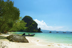 海沙太阳泰国 免版税图库摄影
