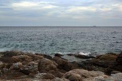 海沙太阳 库存图片