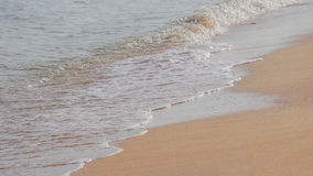 海沙波浪 库存图片