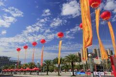 海沧区文化艺术在amoy城市集中 免版税库存照片