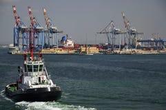 海法端口 免版税库存图片