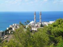 海法都市风景 免版税库存图片