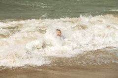 海泡沫的巴恩 免版税库存照片