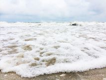 海泡沫 图库摄影