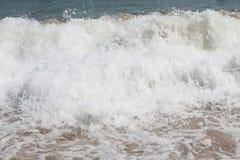 海波浪 图库摄影
