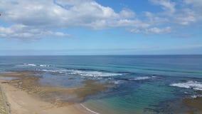 海洋全景 免版税库存照片