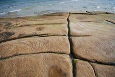 海洋台阶 免版税库存照片