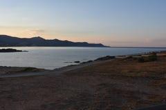 海洋和海风景 免版税库存图片
