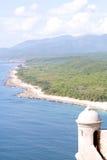 海洋在古巴 库存图片