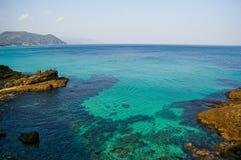 海洋太平洋视图 免版税图库摄影