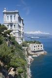 海洋学摩纳哥的博物馆 免版税库存图片
