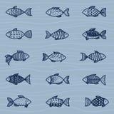 海洋模式 免版税库存照片