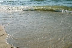 海洋水背景 免版税库存图片