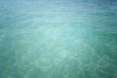 海洋水背景 免版税库存照片