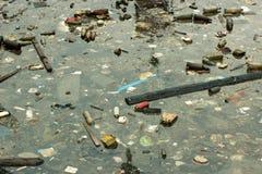 海洋污染 图库摄影