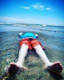 海洋爱 库存照片