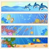 海洋生活 库存例证