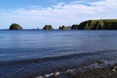 海洋的横向 免版税库存图片