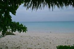 海洋的看法 库存图片