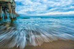 海洋的行动 库存照片