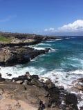 海洋的边缘 库存图片