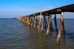海洋码头 免版税图库摄影