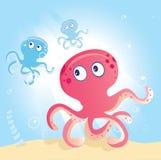 海洋章鱼 图库摄影