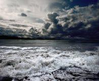 海洋风暴 免版税库存照片