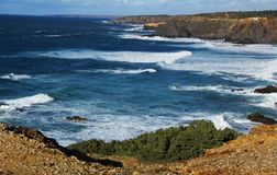 海洋,海, CoastPortugal 库存图片