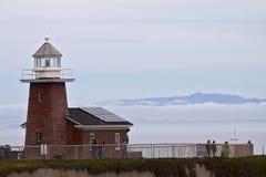 海浪博物馆在圣克鲁斯 免版税库存照片