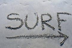 海浪方式 免版税库存照片