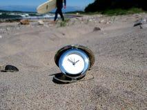 海浪时间 免版税库存照片