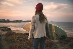 海浪是我的生活 库存照片