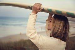 海浪是我的生活 图库摄影
