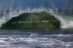 海浪桶 库存图片